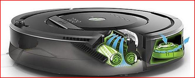 roomba 880 mecanismo de aspersion